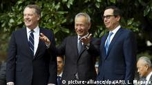 USA und China verhandeln neues Handelsabkommen