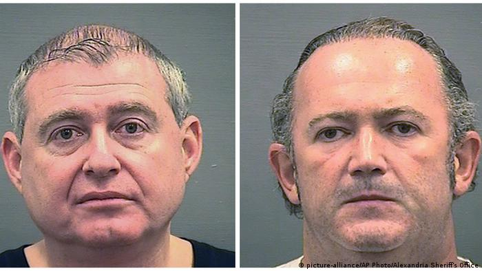 Lev Parnas und Igor Fruman (picture-alliance/AP Photo/Alexandria Sheriff's Office)