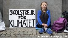 Schweden Stockholm Greta Thunberg