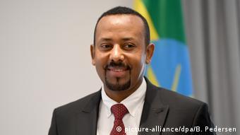 Friedensnobelpreis 2019 Äthiopien | Ministerpräsident Abiy Ahmed (picture-alliance/dpa/B. Pedersen)