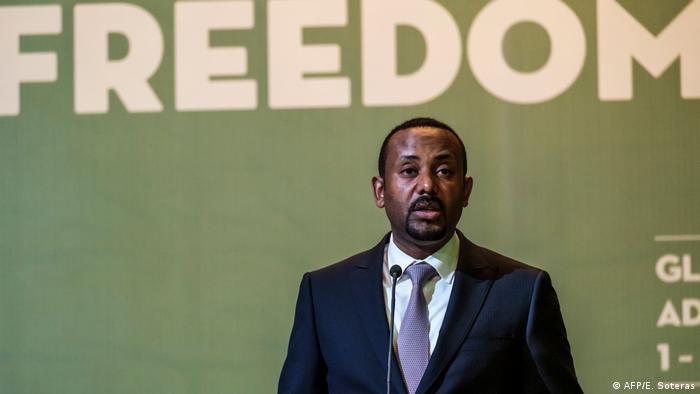 Friedensnobelpreis 2019 Äthiopien | Ministerpräsident Abiy Ahmed (AFP/E. Soteras)