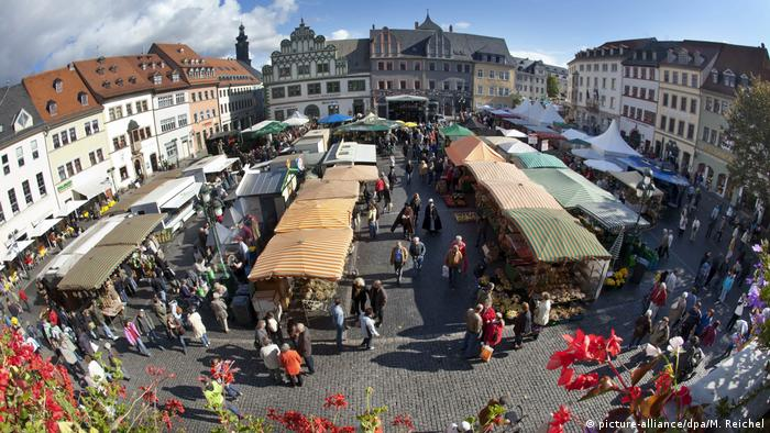 Веймар, луковый рынок, 2012 год