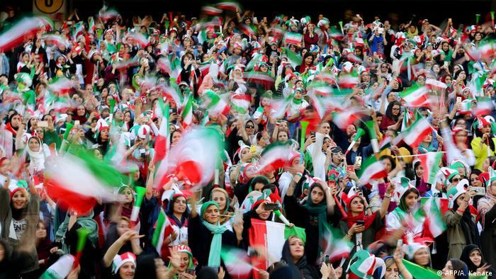 Iran Frauen dürfen ins Stadion zum Fußball
