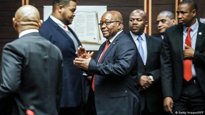 Südafrika Pietermaritzburg | Prozess Jacob Zuma