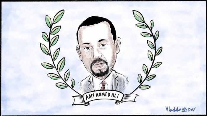 Nobelpreisträger Abiy Ahmed