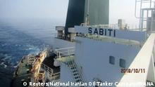 Rotes Meer - Sabiti, Öltanker aus dem Iran