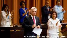 Kuba Parlament Miguel Diaz Canal