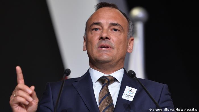 Katar Doha | Präsident des ungarischen Olympiakomitee Zsolt Borkai