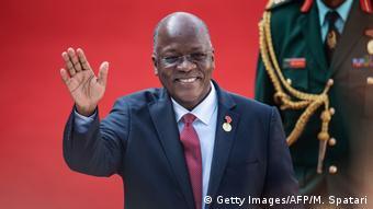 Präsident John Magufuli aus Tansania