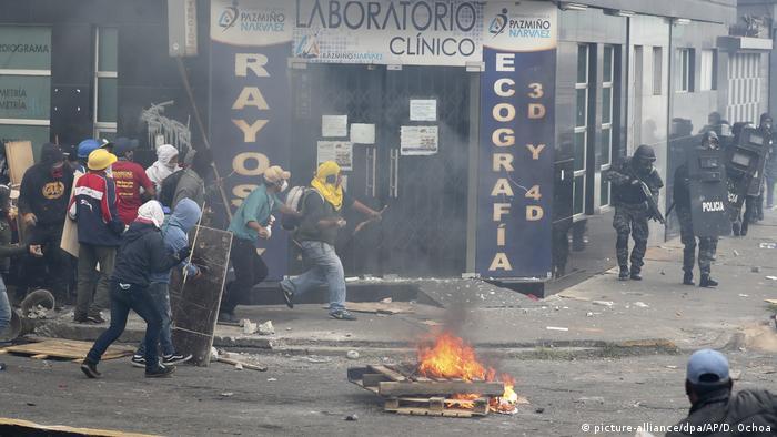 Proteste in Ecuador