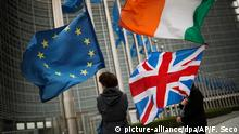 EU, Ireland and Union flags (picture-alliance/dpa/AP/F. Seco)