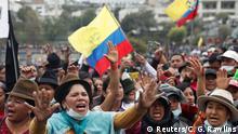 Ecuador Proteste in Quito