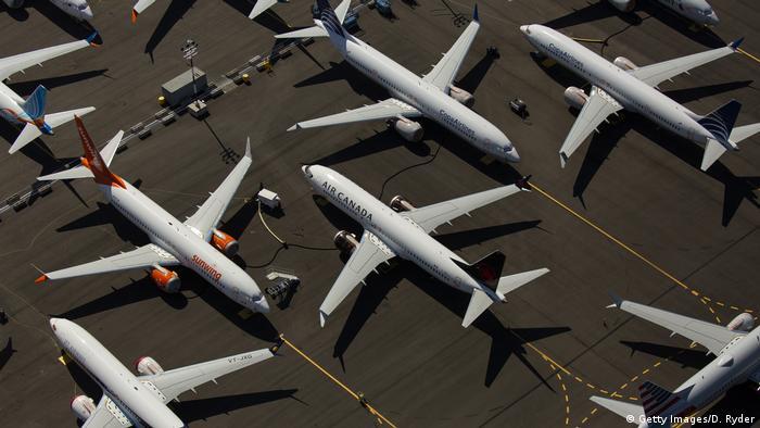 USA Wirtschaft l Boeing 737 MAX (Getty Images/D. Ryder)