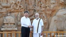 Indien Treffen zwischen Narendra Modi und Xi Jingping