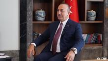 DW Interview | türkischer Aussenminister Mevlüt Çavuşoğlu über die Syrien-Offensive der Türkei