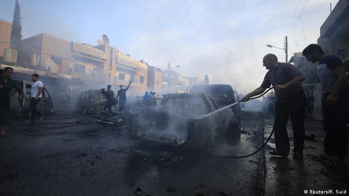 Syrien IS bekennt sich zu Anschlag mit Autobombe in Kamischli