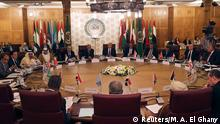 A general view during the Arab Foreign Ministers extraordinary meeting to discuss the Syrian crisis in Cairo, Egypt October 12, 2019. REUTERS/Mohamed Abd El Ghany