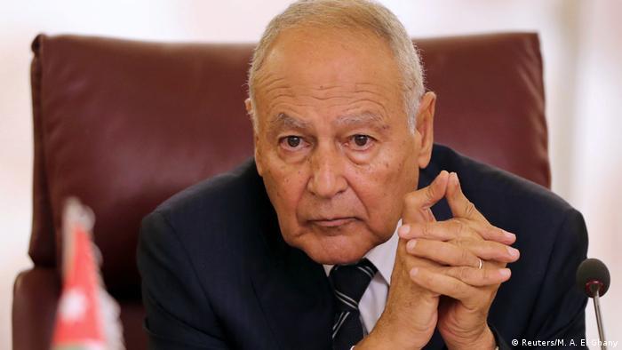 Ägypten Kairo | Außerordentliche Tagung der arabischen Außenminister - Ahmed Aboul Gheit
