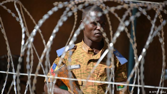 Burkina Faso Symbolbild Sicherheitskräfte