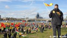 Kurdish protest in Cologne