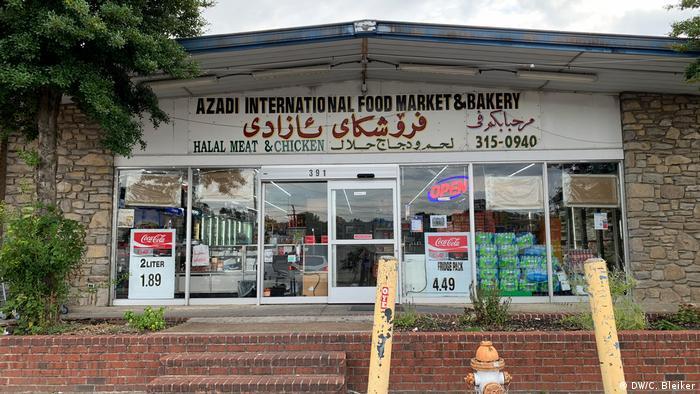 Azadi Market in Little Kurdistan, Nashville