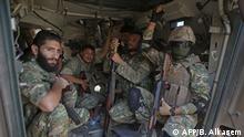 Syrien l Militäroffensive der Türkei in der Grenzstadt Tal Abyad