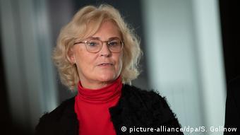 Deutschland Bundesjustizministerin Christine Lambrecht