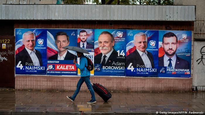 Polen Wahlen 2019 l Wahlplakate