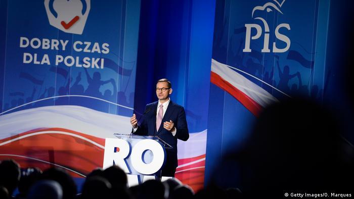 Polen Karte 2019.Das Land Hat Die Wahl Wie Konservativ Wird Polen Aktuell