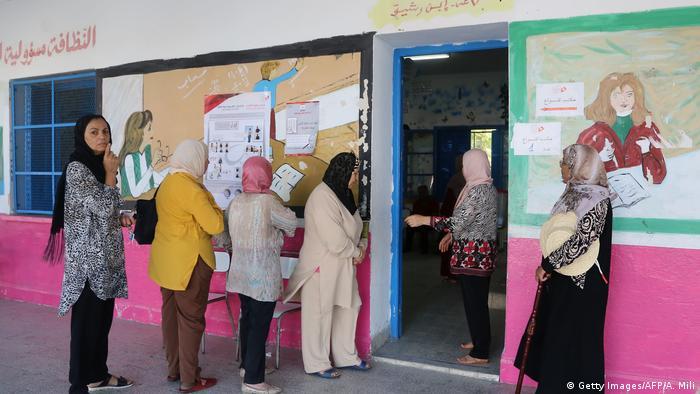 Tunesien Wahlen l Stichwahl um Präsidentenamt (Getty Images/AFP/A. Mili)