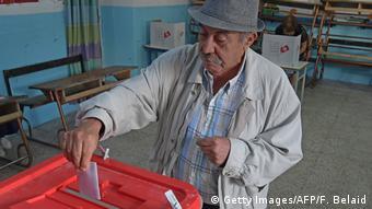 Tunesien Wahlen l Stichwahl um Präsidentenamt (Getty Images/AFP/F. Belaid)