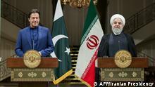 Iran Pakistan Premierminister Imran Khan zu Besuch in Teheran