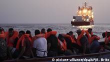 «Ocean Viking» weiter Bootsflüchtlinge an Bord