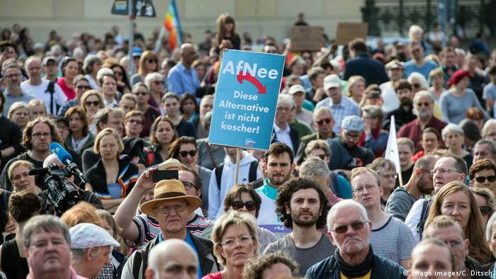 Учасники акції в Берліні