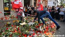 Nach Angriff in Halle/Saale - Gedenken