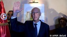 Kaïs Saïed hat die Wahl in Tunesien gewonnen