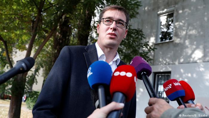 Гергей Карачонь, переможець виборів мера Будапешта