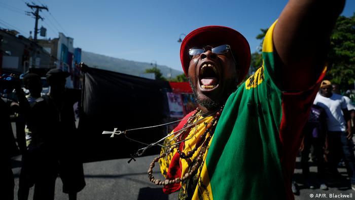 Haiti Erneut Demonstrationen gegen den Präsidenten