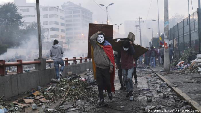Ecuador Protest gegen Präsident Moreno