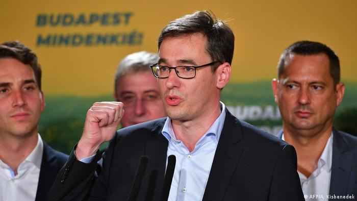 Budapesta, 13.10.2019: Gergely Karácsony a câştigat detaşat alegerile pentru Primăria Generală a Budapestei (AFP/A. Kisbenedek)
