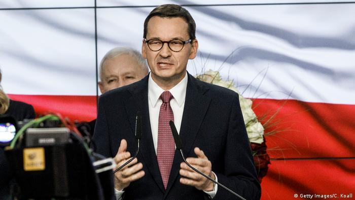 Polen Parlamentswahl PiS Sieger Mateusz Morawiecki