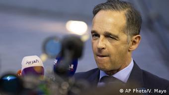 Luemburg EU Außenministertreffen Türkei Offensive Heiko Maas