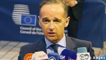 Luxemburg | Heiko Maas zur Invasion der Türkei in Syrien