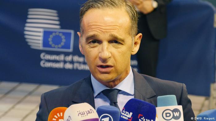 Luxemburg   Heiko Maas zur Invasion der Türkei in Syrien