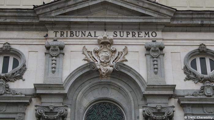 Spanien Justiz Urteil katalonische Separatisten (DW/V. Cheretskiy)