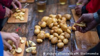 Πατάτες που δεν βρήκαν τον δρόμο προς την αγορά