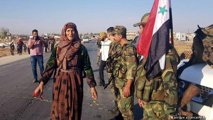 ورود نظامیان ارتش سوریه به مناطق کردنشین در شمال کشور