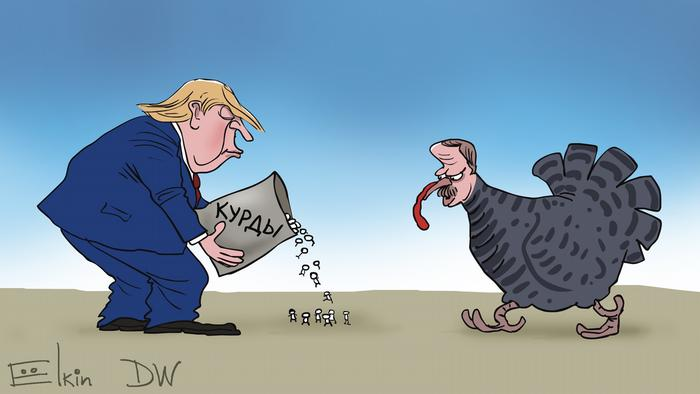 Трамп высыпает перед Эрдоганом из пакета курдов