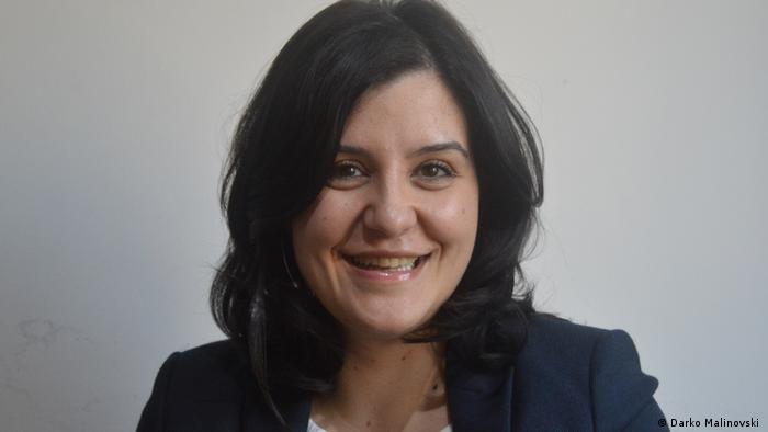 Simonida Kacarska   Direktorin des Instituts für Europapolitik in Skopje Nord-Mazedonien
