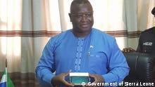 Sierra Leone | Präsident Julius Maada Bio stellt High Tech Lösungen ins Zentrum seiner Agenda